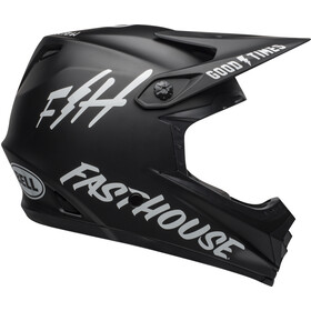 Bell Full-9 Fusion MIPS Casco, matte black/white fasthouse